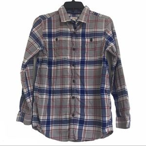 Boy's Cat and Jack Flannel Shirt Size 16